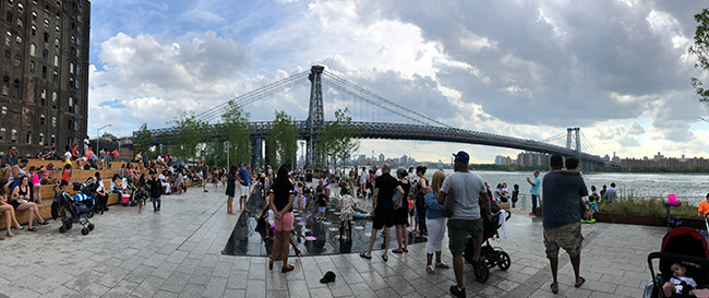 Domino Park by James Corner Field Operation (Landscape Architect). Photo: Courtesy of NYC Department of City Planning.